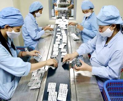 dây truyền sản xuất hóa dược