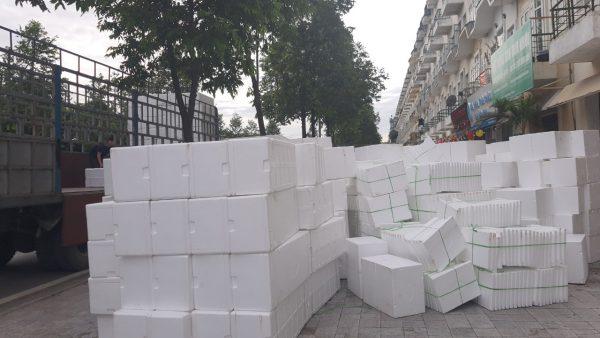 thùng xốp tại Long Biên