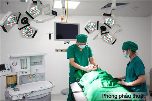 thiết kế phòng phẫu thuật thẩm mỹ