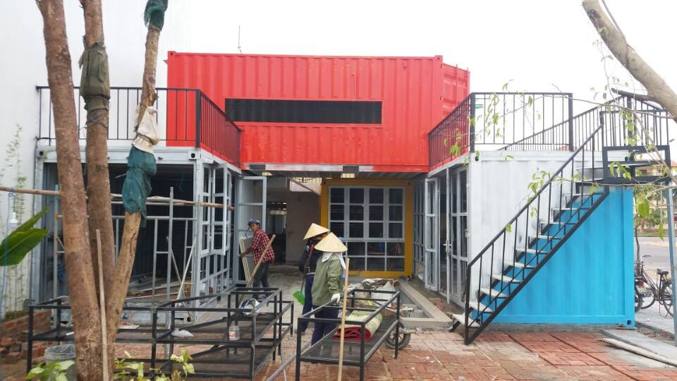 gạch mát chống nóng Container
