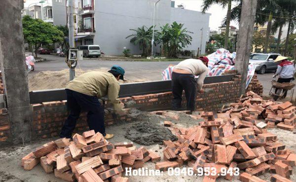 Gạch mát chống nóng tường