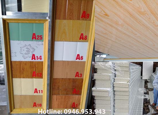 Mẫu trần tôn 3 lớp chống nóng