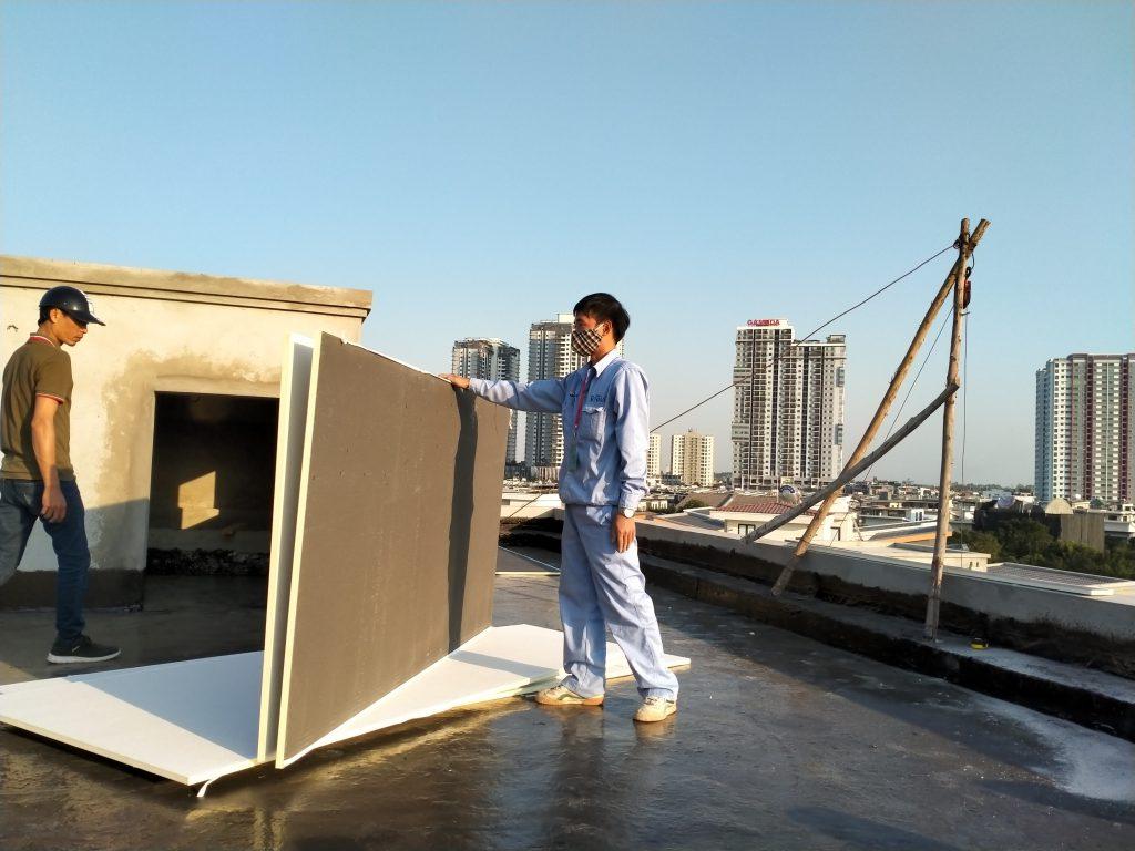 Gạch mát chống nóng vật liệu tốt nhất hiện nay