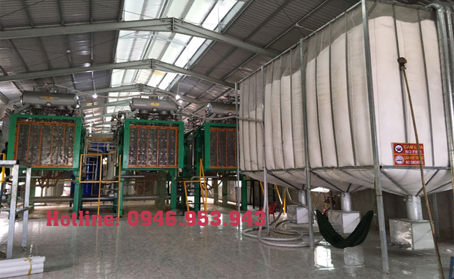 Nhà máy sản xuất thùng xốp Hà Nội