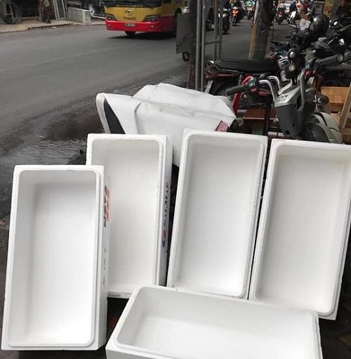 thùng xốp cũ Hà Nội