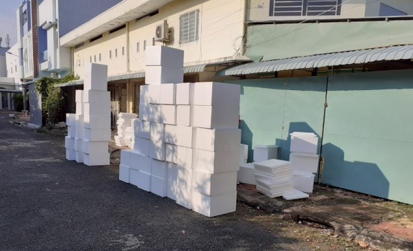 thùng xốp tại Bắc Giang