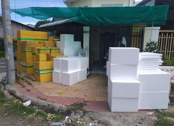 thùng xốp tại Ba Đình