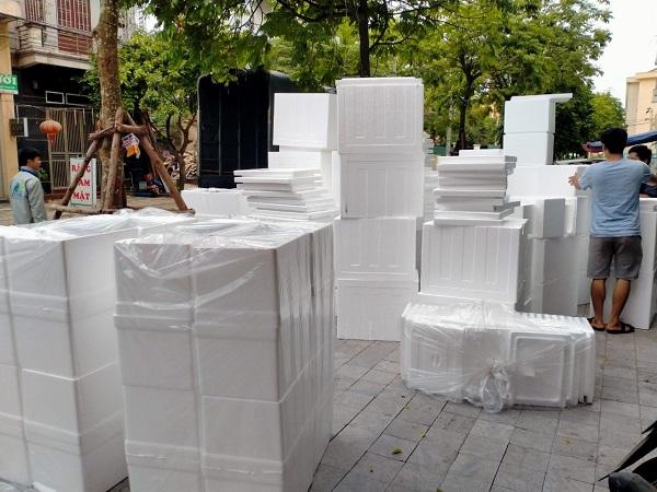 Thùng xốp tại Thanh Xuân