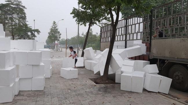 bán lẻ thùng xốp tại Hà Nội