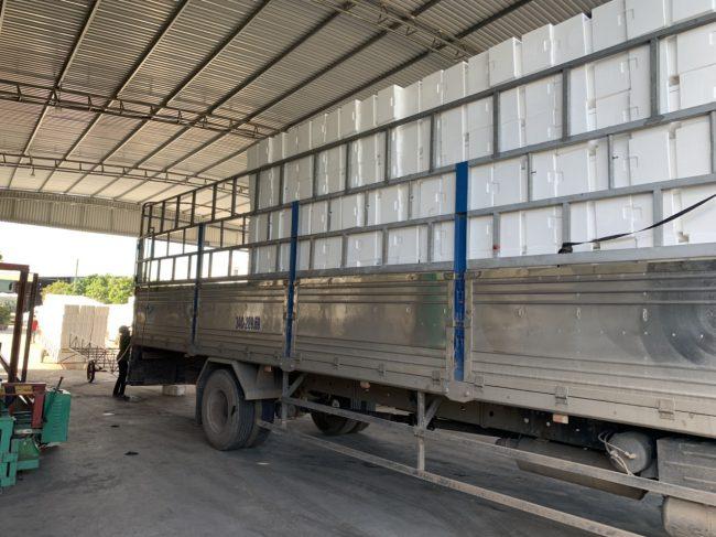 quy trình sản xuất xốp EPS