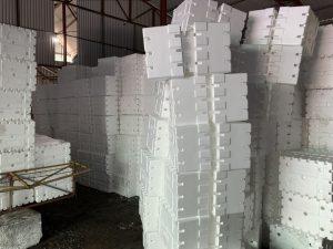 Quy trình sản xuất xốp EPS như thế nào trong 1 nhà máy